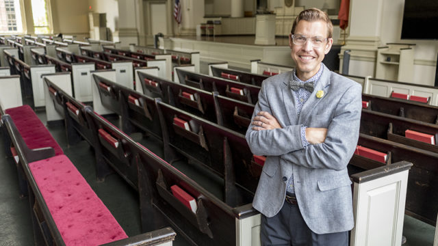 Brian Konkol, new dean of Hendricks Chapel, plans to strengthen SU's spiritual roots