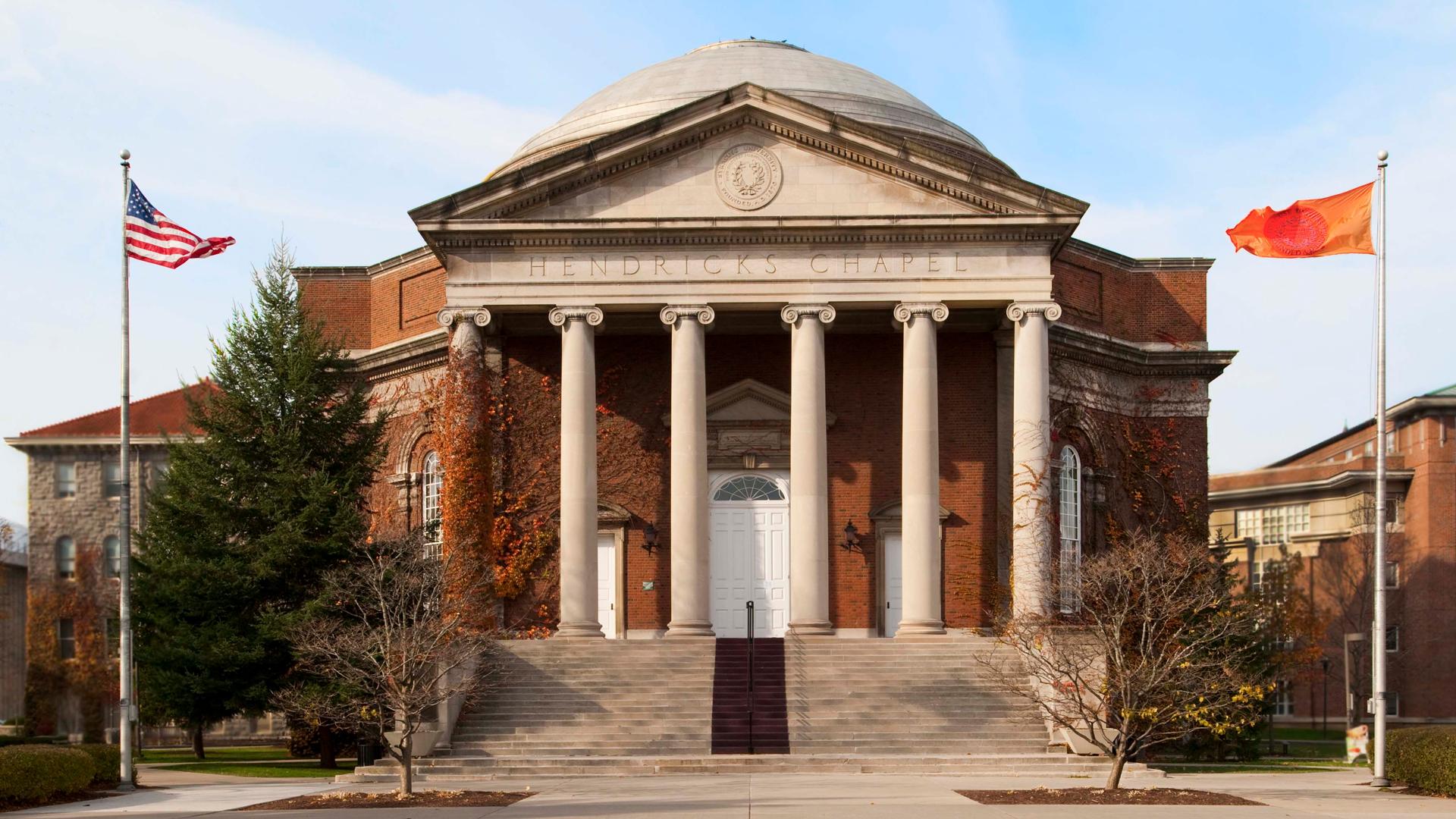 Hendricks Chapel adapts as young adults redefine modern spirituality
