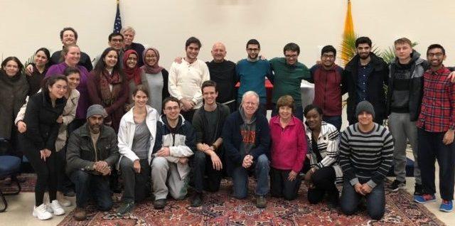 SU MSA's interfaith dinner and movie night with SU Catholic Communities