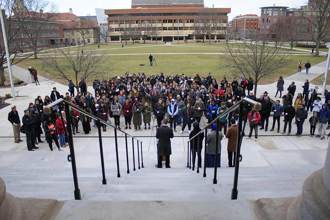 SU community honors victims of Christchurch, New Zealand shootings