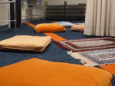 Muslim Students' Association Inspires Renovation of Prayer Space in Hendricks Chapel