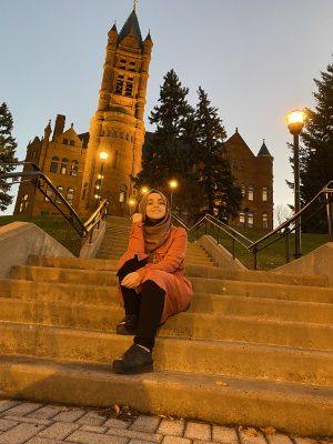 Through Poetry, Nidaa Aljabbarin '22 Shares Her Personal Journey as a Syrian Refugee